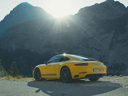 Sans filtre. Nouvelle 911 Carrera T.